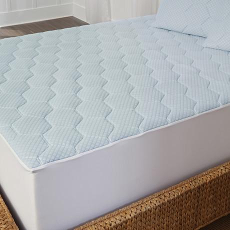 EUROPEUTIC™ Cool-Gel Memory Foam Mattress Pad