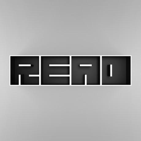 READ Wallmount Bookshelf // Laminated