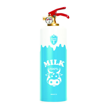 Safe-T Fire Extinguisher // Milk