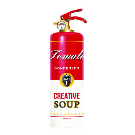 Safe-T Designer Fire Extinguisher // Soup