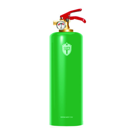 Safe-T Fire Extinguisher // Green