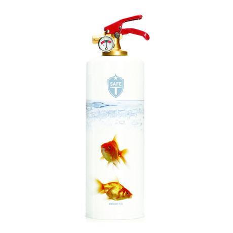 Safe-T Designer Fire Extinguisher // Goldfish