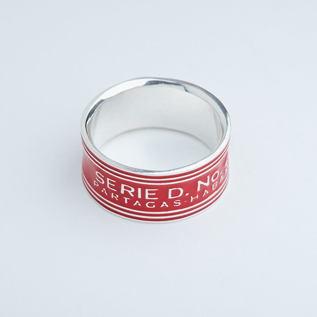 Partagas Serie D Ring // Sterling Silver