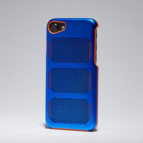 IOM Cases // Extreme GT Coolmesh // Exotic Blue + Orange Trim // iPhone 7
