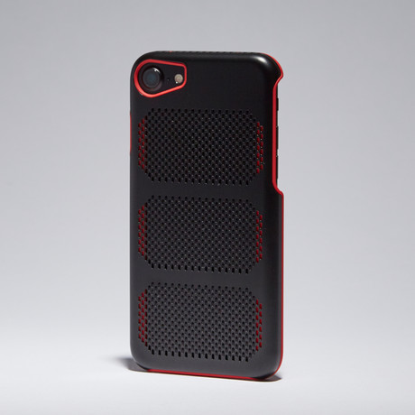 Extreme GT Coolmesh iPhone Case // Black + Red Trim