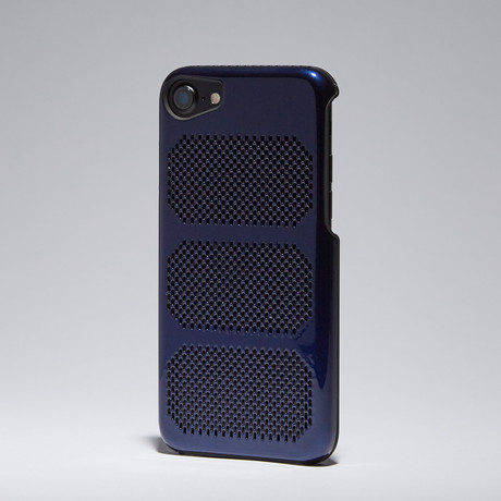 Extreme GT Coolmesh iPhone Case // Intense Blue + Black Trim