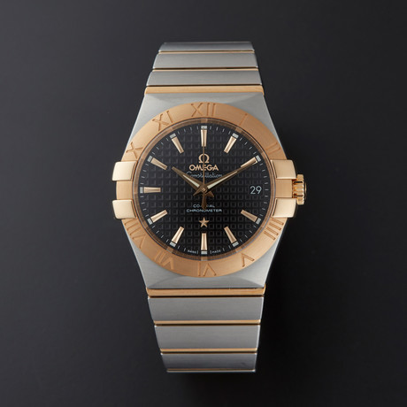 Omega Constellation Co-Axial Automatic // 123.20.35.20.01.002 // Store Display