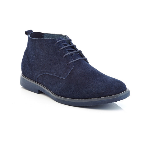 Morris Suede Ankle Boot // Navy (US: 9.5)