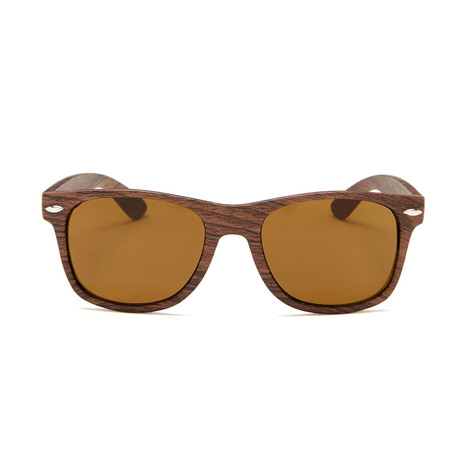 Aspen // Dark Wood Print (Brown Mirror Lens)