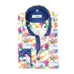 Paint Splash Button-Up // Multi (M)