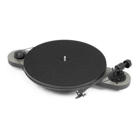 Pro-Ject Elemental Manual Turntable (White + Black)