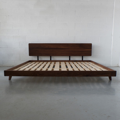 Walnut Bed Frame (Double)