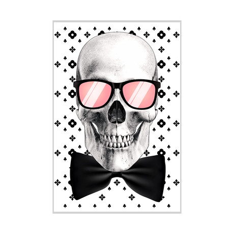 "Mr. Bonehead-Chic (24""W x 16""H x 1.5""D)"