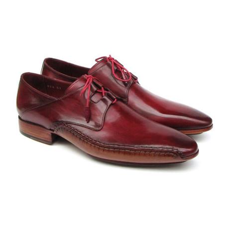 Ghillie Handsewn Dress Shoe // Burgundy (US: 7)