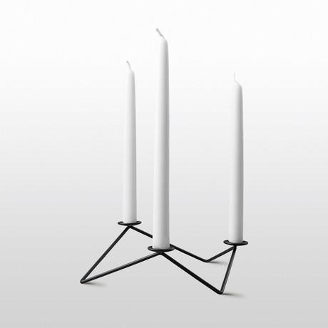 Avani // Candle Holder (Black)