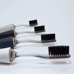 EPIQUAL Toothbrush + Additional Bristles // Charcoal Head (Black)