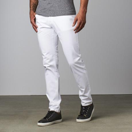 Kellen Casual Pant // White