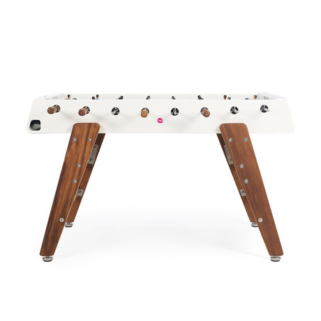 Wood Foosball Table (White)