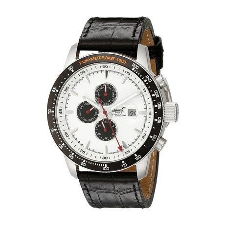 Ingersoll Presidio Dual Time Day/Date Automatic // IN1219WH