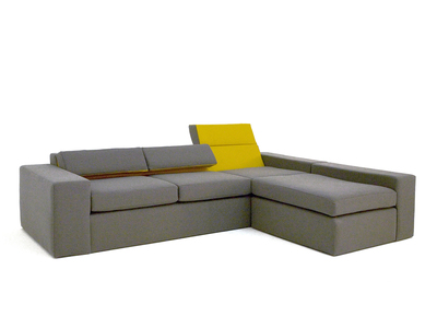 Photo of Nolen Niu Distinctive Minimalist Furniture  Mirror Sectional (Left Facing) by Touch Of Modern
