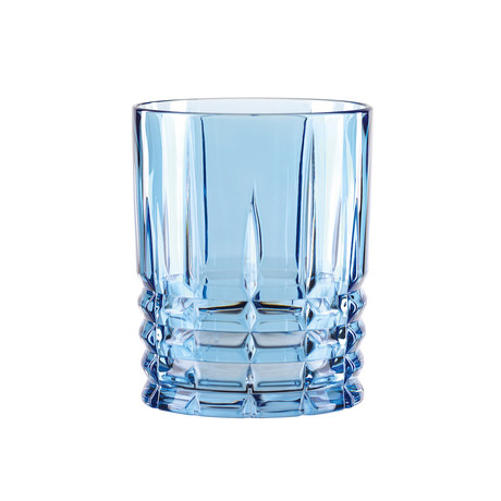 Highland // Whisky Tumbler Aqua // Set of 4