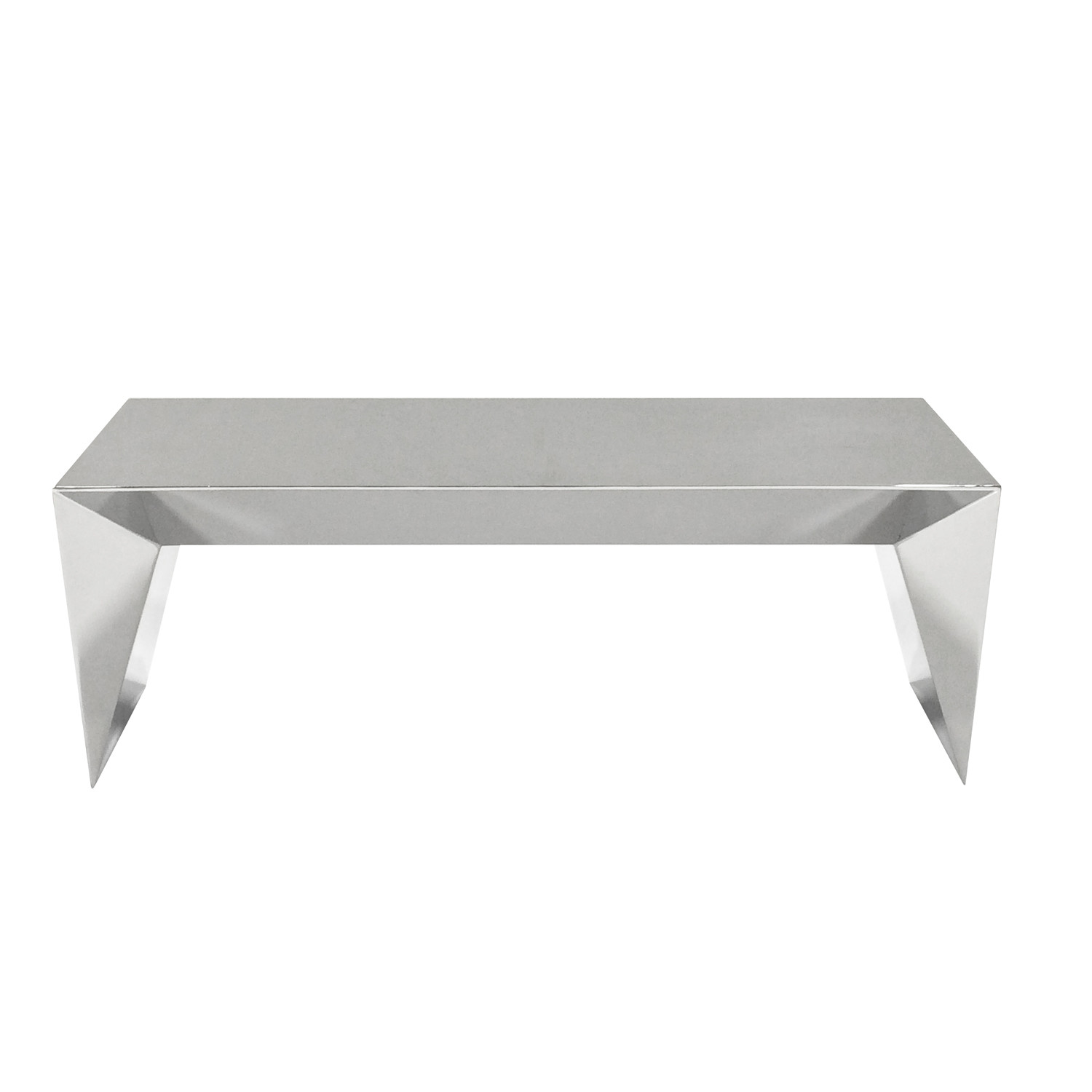 Mirage Stainless Steel Bench Nolen Niu Touch Of Modern