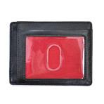 Baseball Stitch Card Case // Black