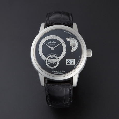 Glashutte Platinum Panomatic Lunar Moon Automatic // 90.02.03.03.04 // Pre-Owned
