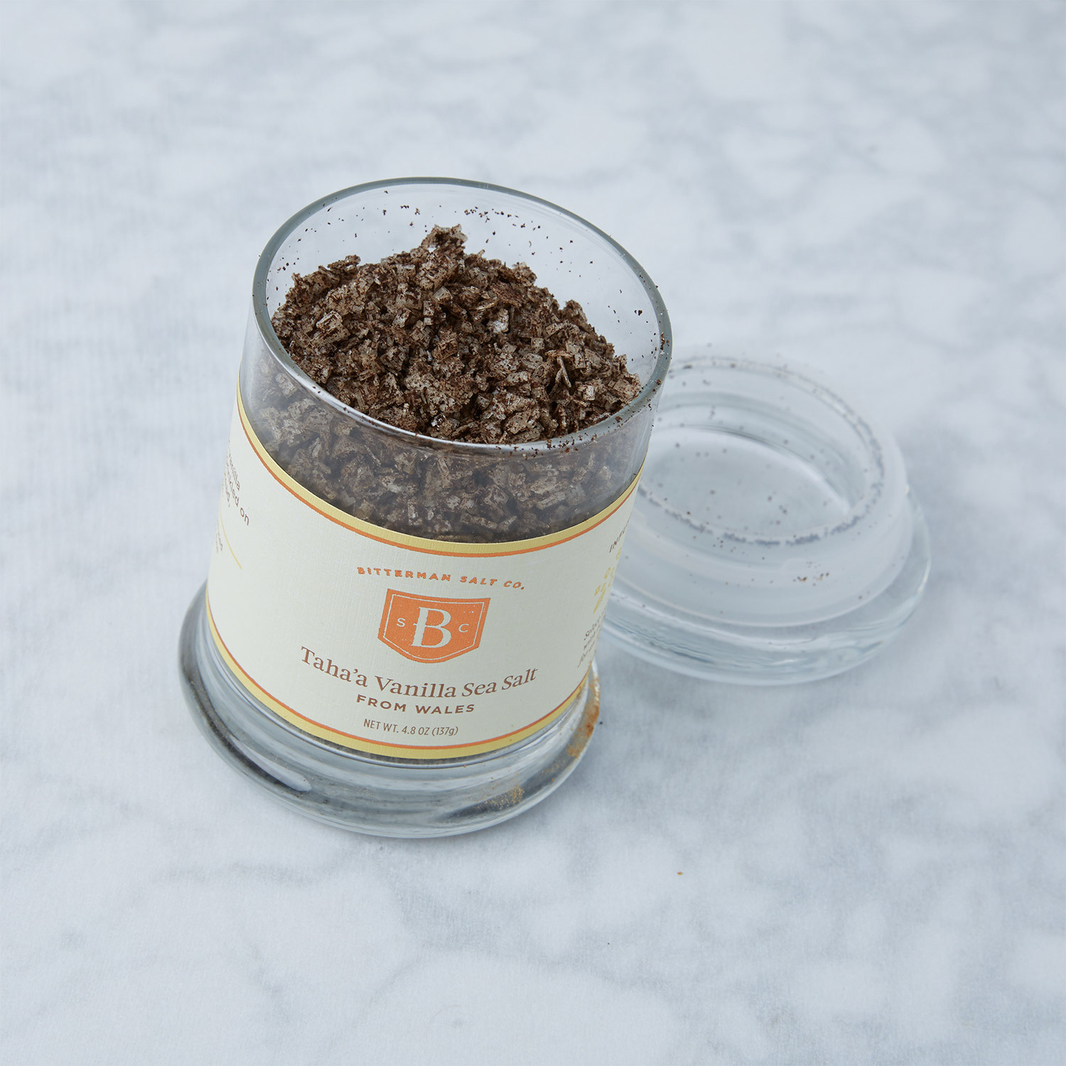 Taha's Vanilla Sea Salt // Large - Bitterman Salt Co. - Touch of ...