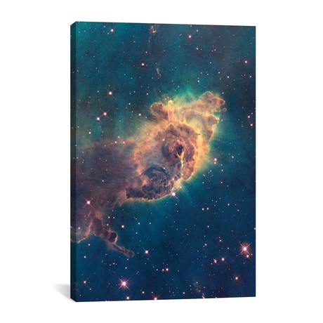 "Pillar Of Gas, Carina Nebula // NASA (26""W x 40""H x 1.5""D)"