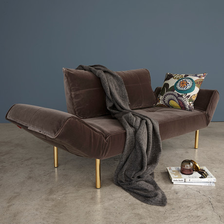 Zeal Deluxe Daybed // Brass