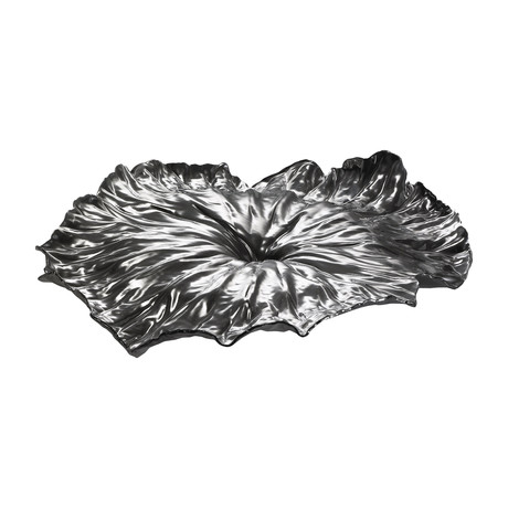 A Lotus Leaf Centerpiece (Stainless Steel)