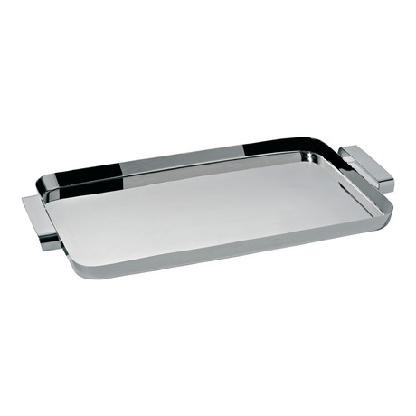 Tau Rectangular Tray + Handles