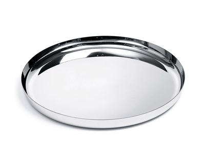 Photo of Alessi Italian Kitchen Design Round Tray (Matte) by Touch Of Modern
