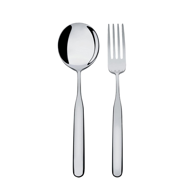 Collo alto flatware set 5 piece set alessi touch of modern - Alessi flatware sale ...