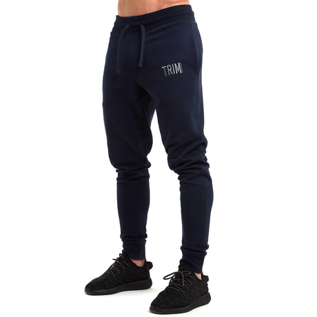 Pro-Fit Tapered Joggers // Navy