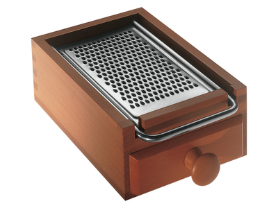 Photo of Alessi Italian Kitchen Design Flat Cheese Grater by Touch Of Modern
