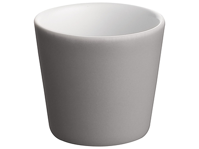 Photo of Alessi Italian Kitchen Design Tonale Mini-Cup (Dark Grey) by Touch Of Modern