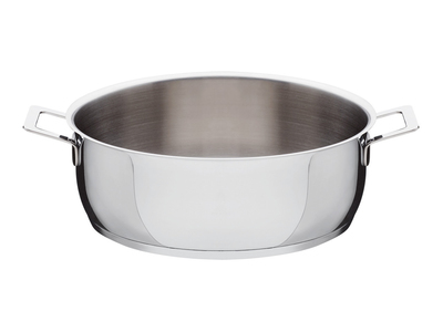 Photo of Alessi Italian Kitchen Design Pots & Pans // Low Casserole + Two Handles by Touch Of Modern