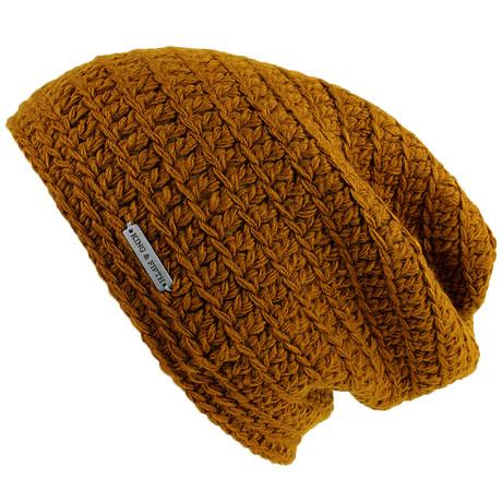 2ab060d02947951af4f76dd5fb694ba6 medium. The Beeskie Slouchy Beanie    Dark  Yellow d943117e534