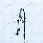 HD1 In-Ear Headphone // Black-Chrome (Apple)