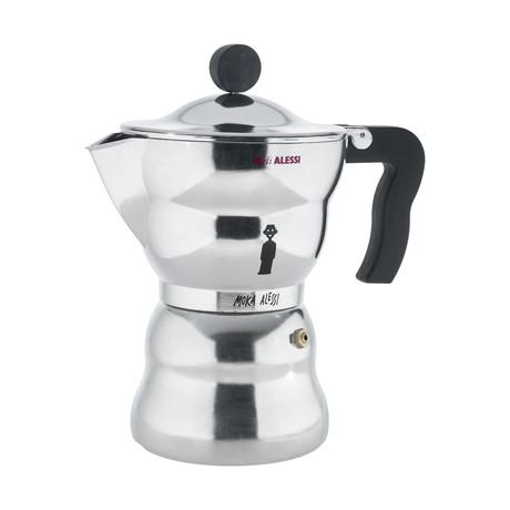 Moka Alessi Espresso Coffee Maker (6 Cup)