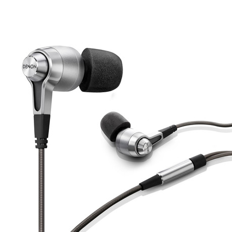 AH-C720 Enhanced Performance In-Ear Headphones (Silver)