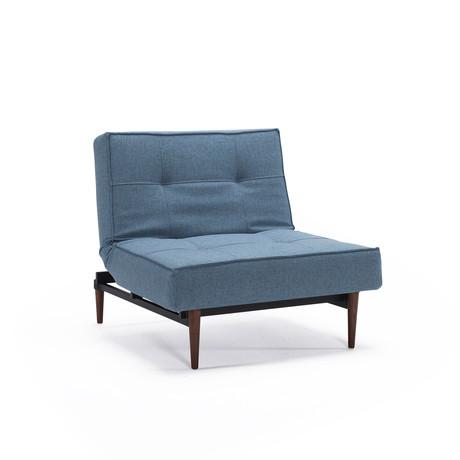 Splitback Chair // Dark Wood