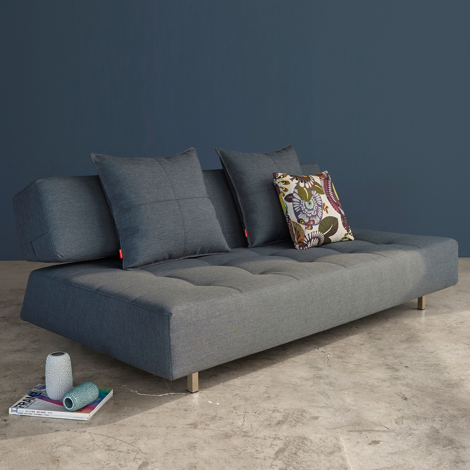 Long Horn D E Sofa Basic Dark Grey Innovation Touch