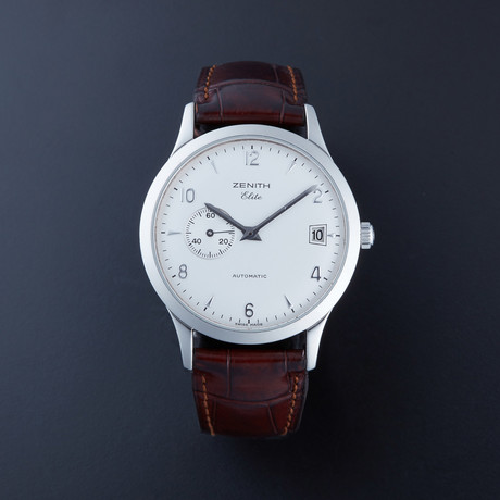 Zenith Elite Automatic // 01.1125.680/01 // Pre-Owned