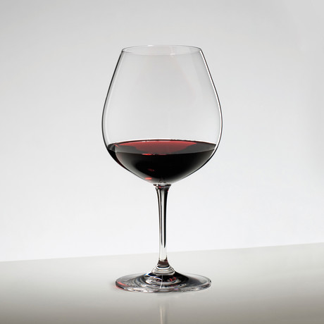 Vinum // Pinot Noir Burgundy Red // Set of 2
