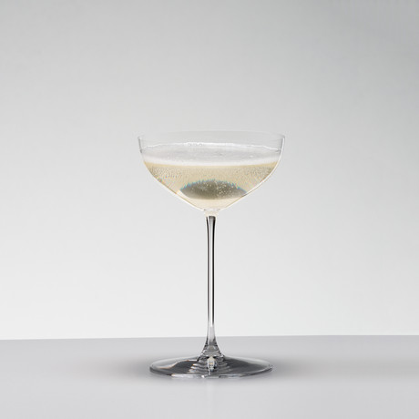 Veritas // Coupe + Moscato/Martini // Set of 2