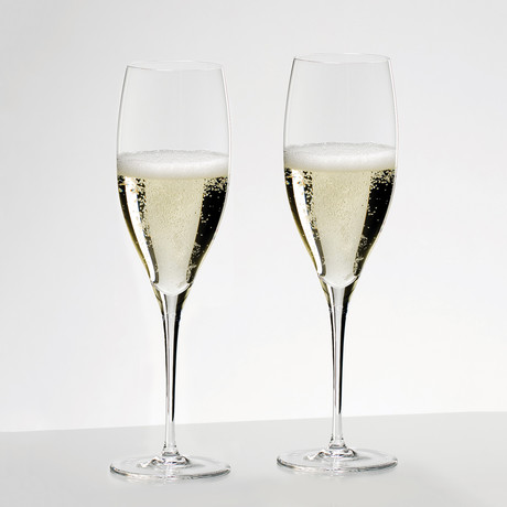 Sommelier // Sommeliers Vintage Champagne Glass // Set of 2