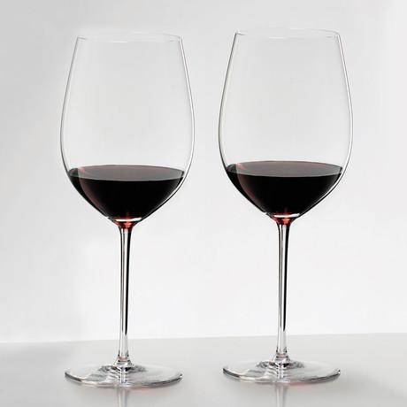 Sommelier // Sommeliers Mature Bordeaux Chablis Chardonnay // Set of 2